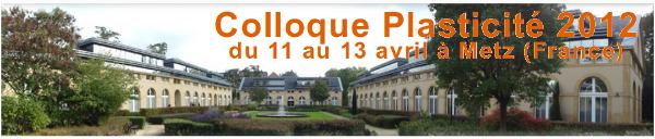 Plasticité 2012 à Metz